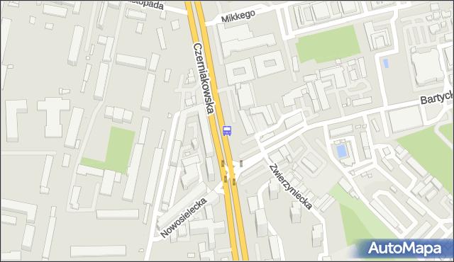 Przystanek Bartycka 02. ZTM Warszawa - Warszawa (id 305702) na mapie Targeo