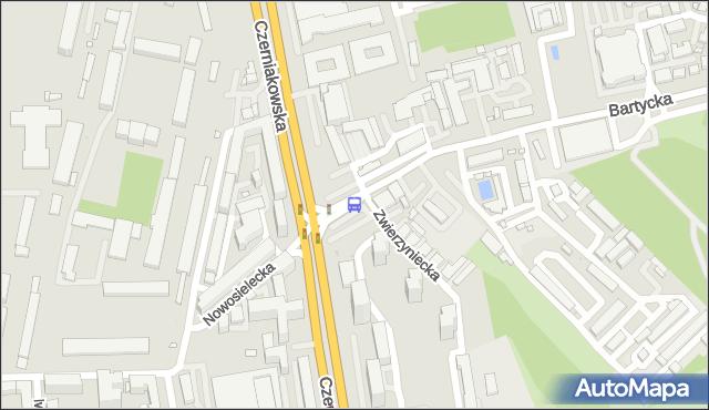 Przystanek Bartycka 03. ZTM Warszawa - Warszawa (id 305703) na mapie Targeo