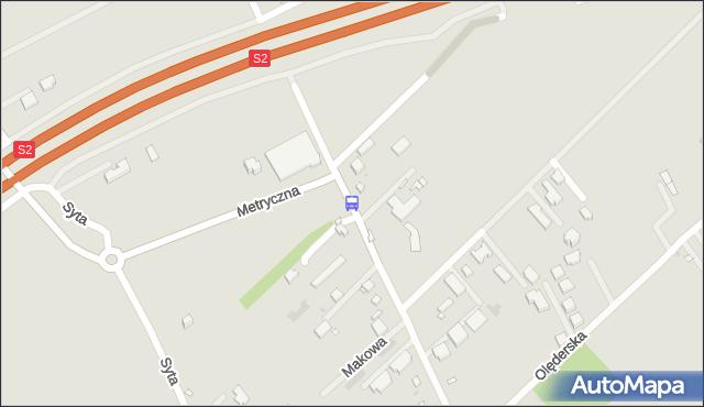 Przystanek Bartyki 02. ZTM Warszawa - Warszawa (id 315602) na mapie Targeo