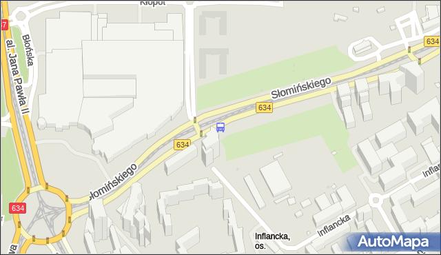 Przystanek Baseny Inflancka 01. ZTM Warszawa - Warszawa (id 708101) na mapie Targeo