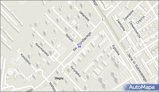 Przystanek Batumi 01. ZTM Warszawa - Warszawa (id 309301) na mapie Targeo
