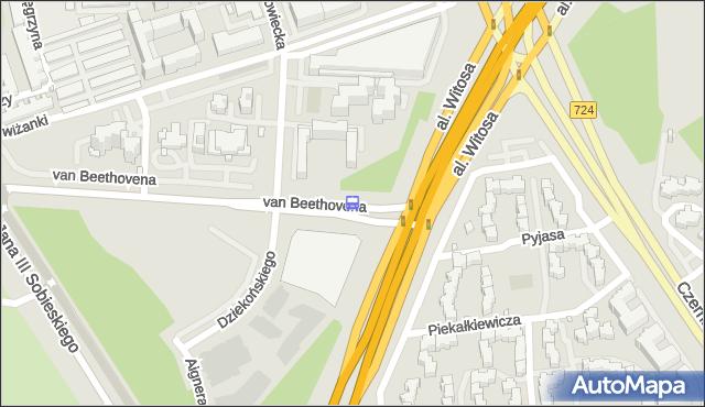 Przystanek Beethovena 04. ZTM Warszawa - Warszawa (id 332504) na mapie Targeo