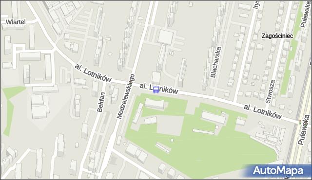 Przystanek Bełdan 01. ZTM Warszawa - Warszawa (id 324801) na mapie Targeo