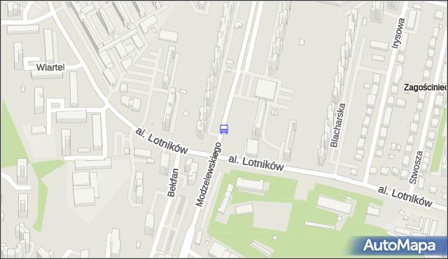 Przystanek Bełdan 04. ZTM Warszawa - Warszawa (id 324804) na mapie Targeo