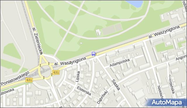 Przystanek Berezyńska 01. ZTM Warszawa - Warszawa (id 225101) na mapie Targeo