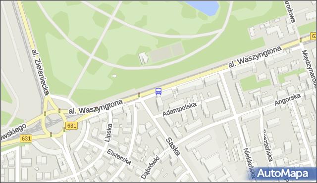 Przystanek Berezyńska 02. ZTM Warszawa - Warszawa (id 225102) na mapie Targeo
