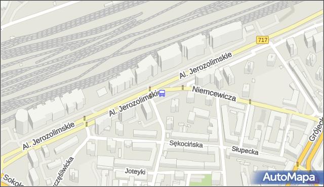 Przystanek Białobrzeska 01. ZTM Warszawa - Warszawa (id 404201) na mapie Targeo