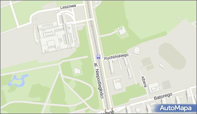 Przystanek Biblioteka Narodowa 04. ZTM Warszawa - Warszawa (id 709404) na mapie Targeo