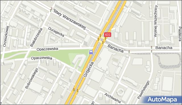 Przystanek Bitwy Warszawskiej 1920 r. 02. ZTM Warszawa - Warszawa (id 400502) na mapie Targeo