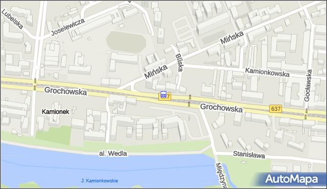 Przystanek Bliska 01. ZTM Warszawa - Warszawa (id 200301) na mapie Targeo