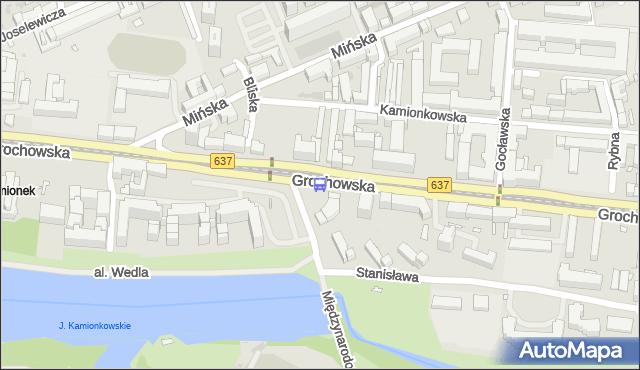 Przystanek Bliska 02. ZTM Warszawa - Warszawa (id 200302) na mapie Targeo