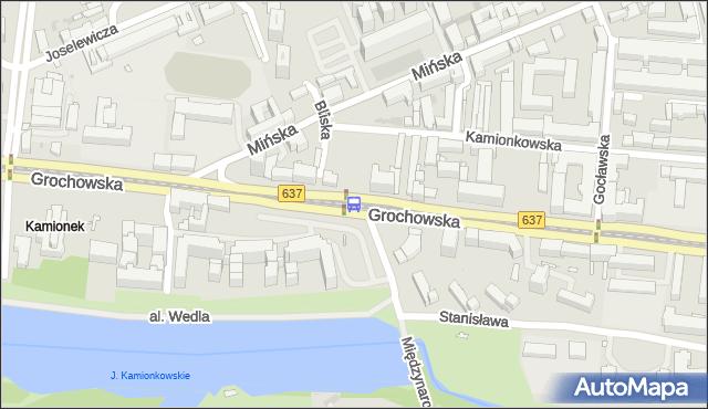 Przystanek Bliska 03. ZTM Warszawa - Warszawa (id 200303) na mapie Targeo