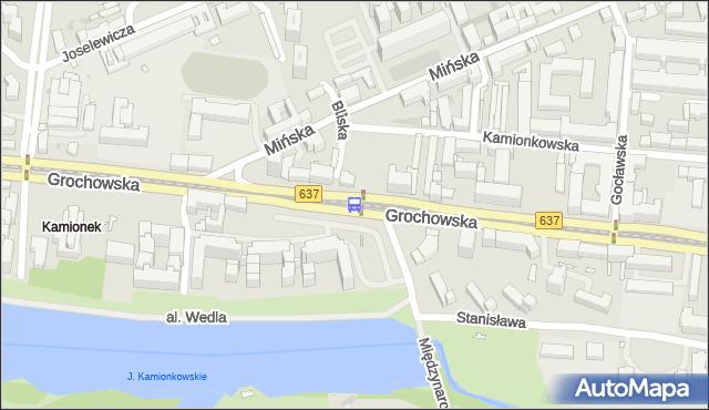 Przystanek Bliska 04. ZTM Warszawa - Warszawa (id 200304) na mapie Targeo