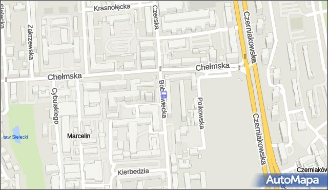 Przystanek Bobrowiecka 02. ZTM Warszawa - Warszawa (id 308702) na mapie Targeo
