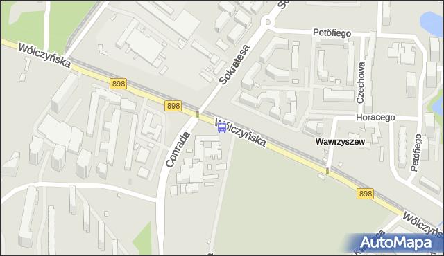 Przystanek Bogusławskiego 01. ZTM Warszawa - Warszawa (id 602601) na mapie Targeo
