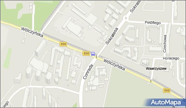 Przystanek Bogusławskiego 03. ZTM Warszawa - Warszawa (id 602603) na mapie Targeo