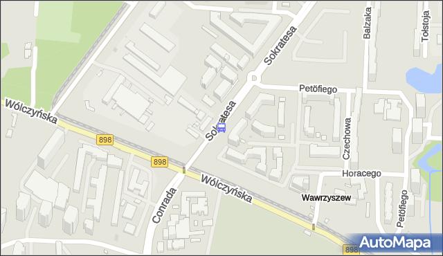 Przystanek Bogusławskiego 08. ZTM Warszawa - Warszawa (id 602608) na mapie Targeo