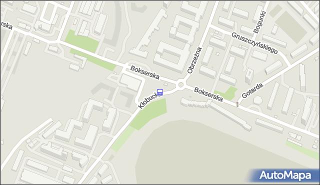 Przystanek Bokserska 01. ZTM Warszawa - Warszawa (id 326701) na mapie Targeo