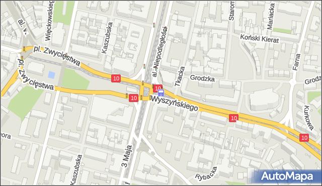 Przystanek Brama Portowa 21. ZDiTM Szczecin - Szczecin (id 10821) na mapie Targeo