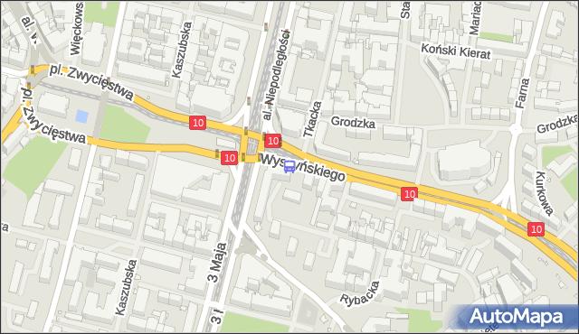 Przystanek Brama Portowa 23. ZDiTM Szczecin - Szczecin (id 10823) na mapie Targeo