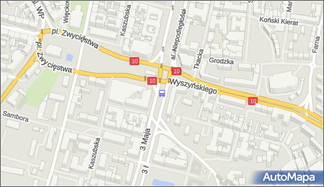 Przystanek Brama Portowa 31. ZDiTM Szczecin - Szczecin (id 10831) na mapie Targeo