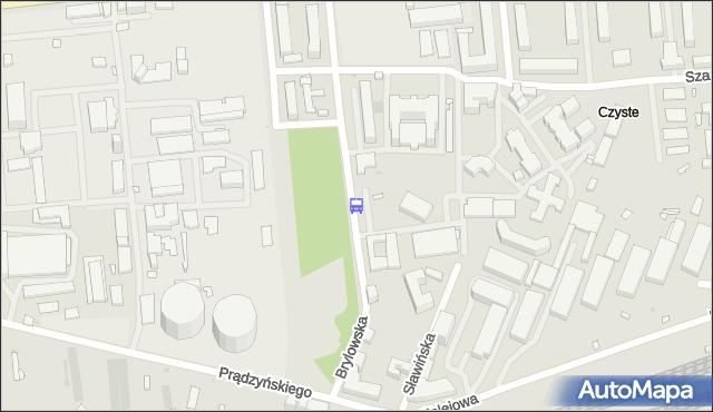 Przystanek Brylowska 02. ZTM Warszawa - Warszawa (id 511902) na mapie Targeo