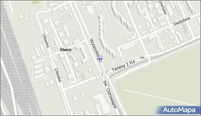 Przystanek Budowlana 02. ZTM Warszawa - Warszawa (id 108002) na mapie Targeo