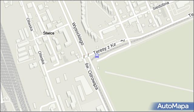 Przystanek Budowlana 03. ZTM Warszawa - Warszawa (id 108003) na mapie Targeo