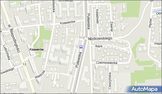 Przystanek Bukowińska 01. ZTM Warszawa - Warszawa (id 300801) na mapie Targeo