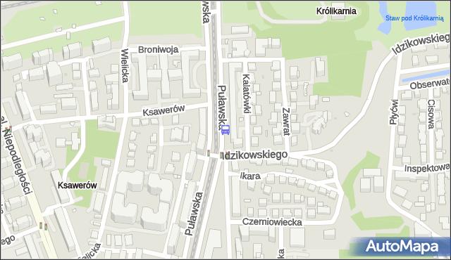 Przystanek Bukowińska 02. ZTM Warszawa - Warszawa (id 300802) na mapie Targeo