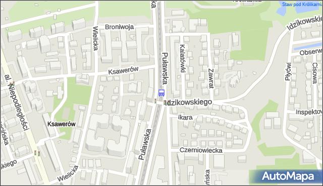 Przystanek Bukowińska 03. ZTM Warszawa - Warszawa (id 300803) na mapie Targeo