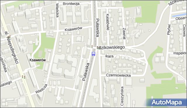 Przystanek Bukowińska 04. ZTM Warszawa - Warszawa (id 300804) na mapie Targeo
