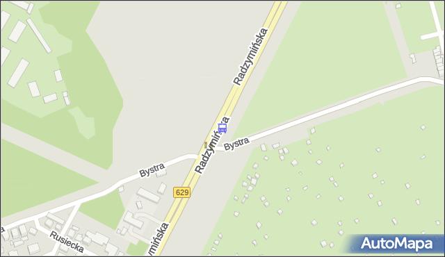 Przystanek Bystra 02. ZTM Warszawa - Warszawa (id 125802) na mapie Targeo