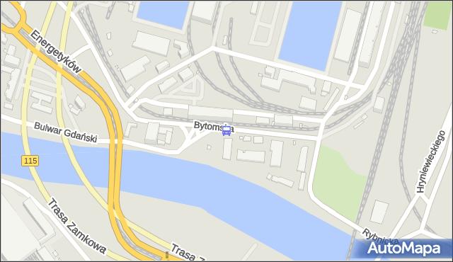 Przystanek Bytomska 11. ZDiTM Szczecin - Szczecin (id 61111) na mapie Targeo