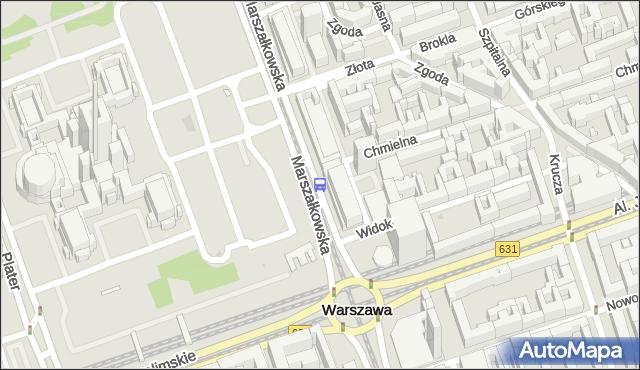 Przystanek Centrum 04. ZTM Warszawa - Warszawa (id 701304) na mapie Targeo