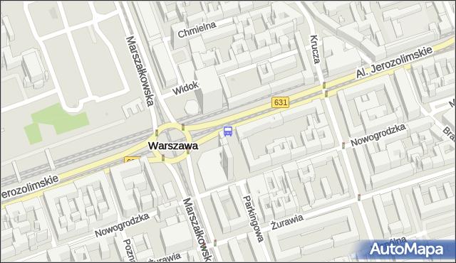 Przystanek Centrum 05. ZTM Warszawa - Warszawa (id 701305) na mapie Targeo