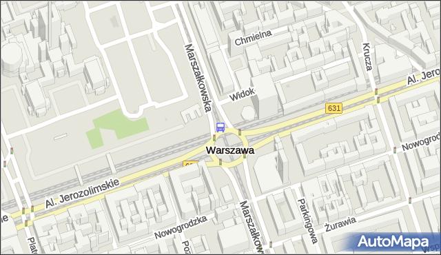 Przystanek Centrum 07. ZTM Warszawa - Warszawa (id 701307) na mapie Targeo