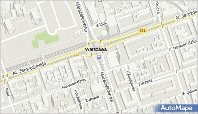 Przystanek Centrum 08. ZTM Warszawa - Warszawa (id 701308) na mapie Targeo