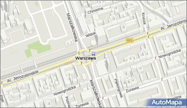 Przystanek Centrum 10. ZTM Warszawa - Warszawa (id 701310) na mapie Targeo