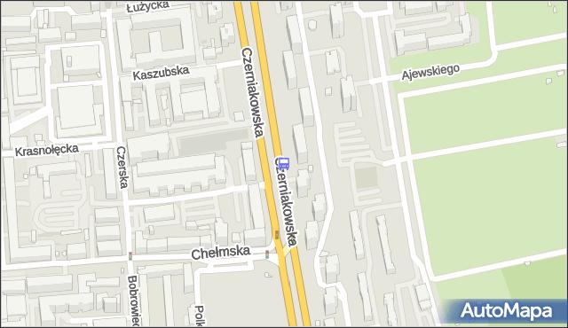 Przystanek Chełmska 02. ZTM Warszawa - Warszawa (id 305902) na mapie Targeo