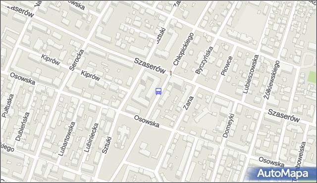 Przystanek Chłopickiego 01. ZTM Warszawa - Warszawa (id 210901) na mapie Targeo