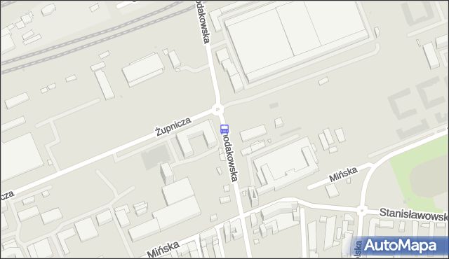 Przystanek Chodakowska 02. ZTM Warszawa - Warszawa (id 211802) na mapie Targeo