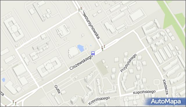 Przystanek Ciszewskiego 01. ZTM Warszawa - Warszawa (id 315101) na mapie Targeo