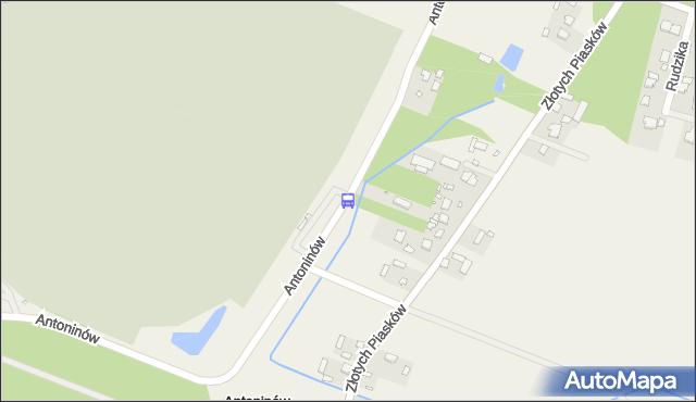 Przystanek Cm.Południowy-Brama Wsch. 01. ZTM Warszawa - Warszawa (id 332801) na mapie Targeo