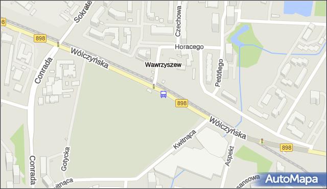 Przystanek Cm.Wawrzyszewski 01. ZTM Warszawa - Warszawa (id 602501) na mapie Targeo