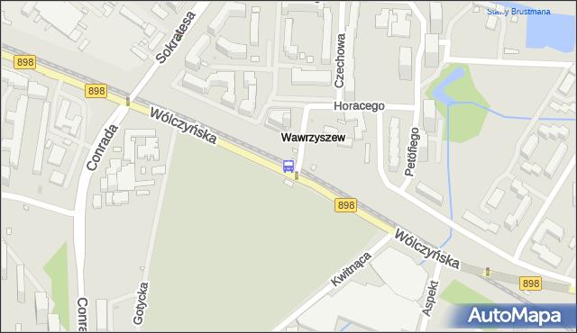 Przystanek Cm.Wawrzyszewski 03. ZTM Warszawa - Warszawa (id 602503) na mapie Targeo