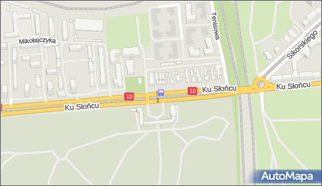 Przystanek Cmentarz Centralny 11. ZDiTM Szczecin - Szczecin (id 20711) na mapie Targeo