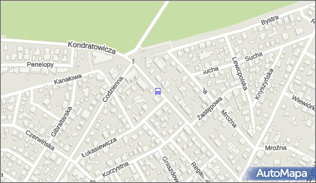 Przystanek Codzienna 01. ZTM Warszawa - Warszawa (id 106101) na mapie Targeo