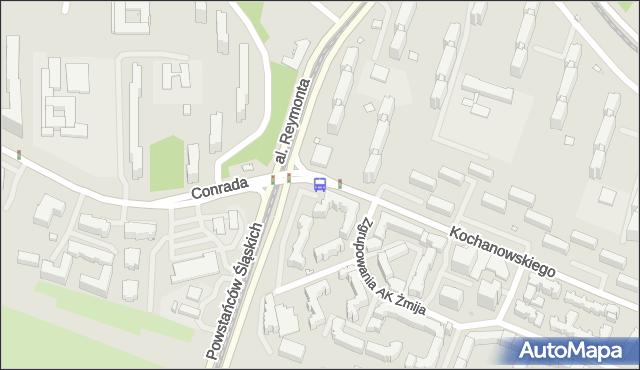 Przystanek Conrada 03. ZTM Warszawa - Warszawa (id 604703) na mapie Targeo