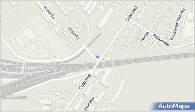 Przystanek Cukrowa 11. ZDiTM Szczecin - Szczecin (id 23911) na mapie Targeo